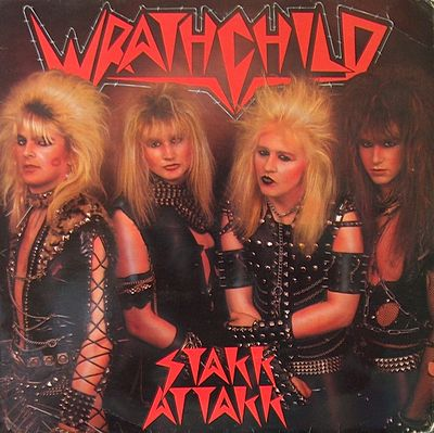 pochette cd musique - Wrathchild_UK_-_Stakk_Attakk