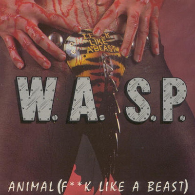 pochette album cd WASP