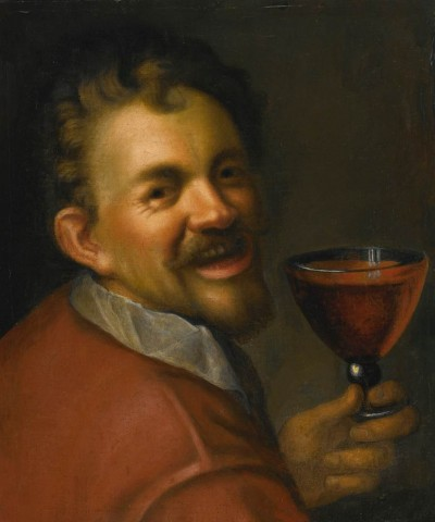 bacchus self prortrait